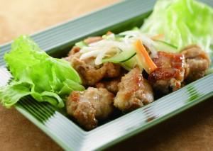 米粉PR③鶏肉の米粉揚げ