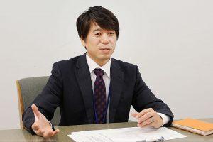 柏崎刈羽原子力発電所広報部柏崎地域グループの坂井敏幸氏