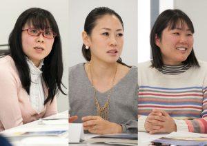 東京電力との座談会に参加したトキっ子くらぶモニター