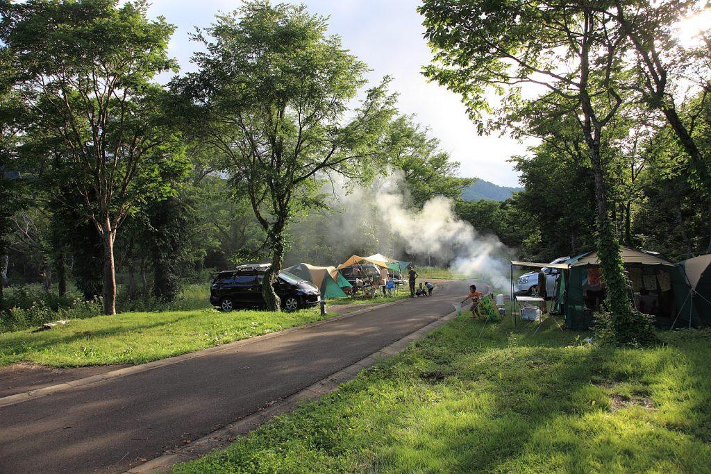 笹ヶ峰オートキャンプ場-1024x683