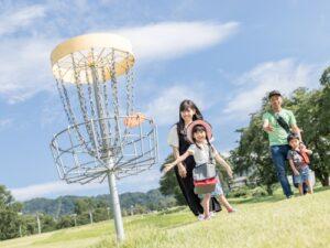 舞子高原ホテルファミリーディスクゴルフ