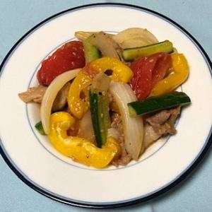 トキっ子食くーる夏野菜のプルコギ