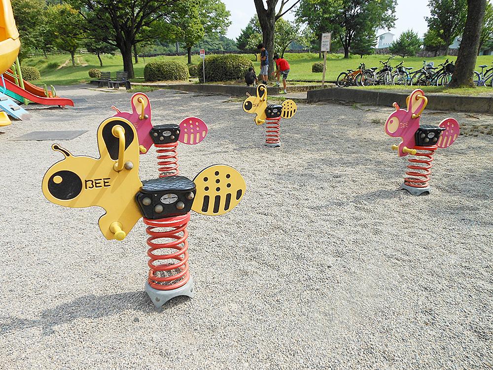 五十公野公園_スプリング遊具