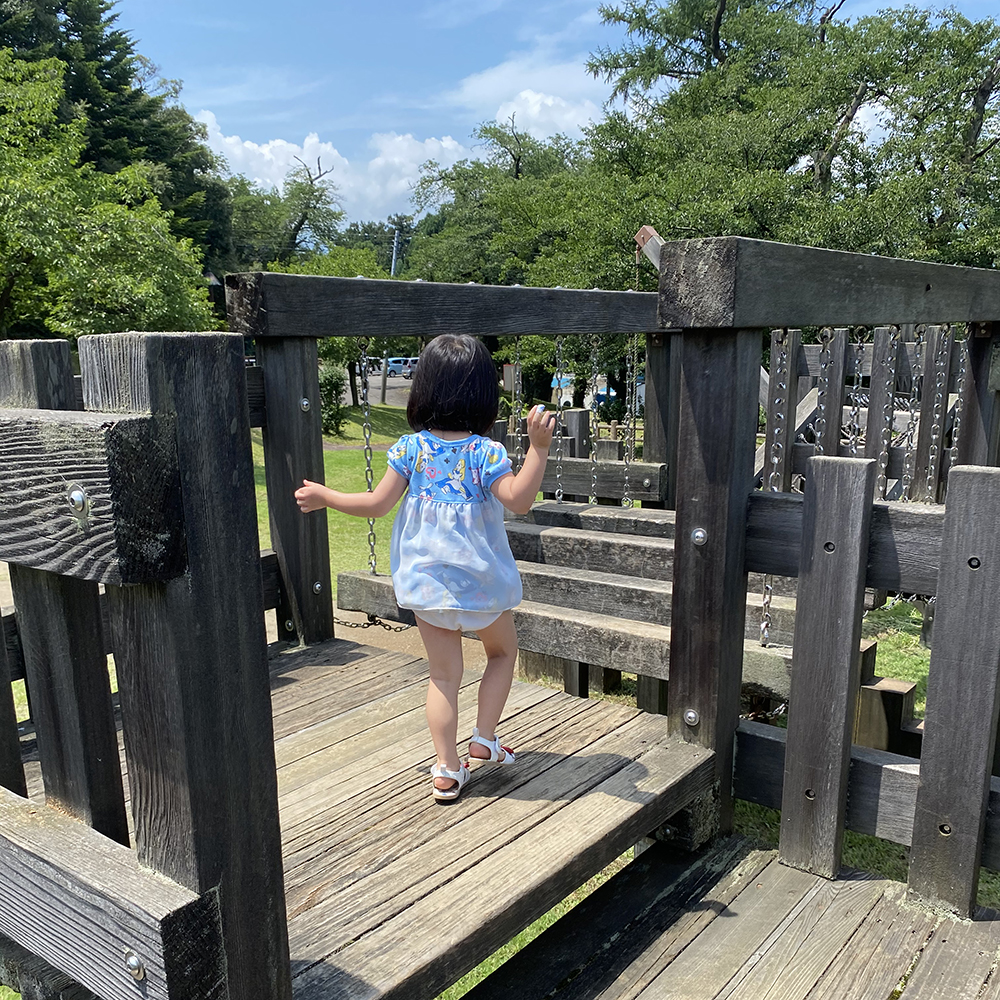 経塚山公園_複合アスレチック遊具
