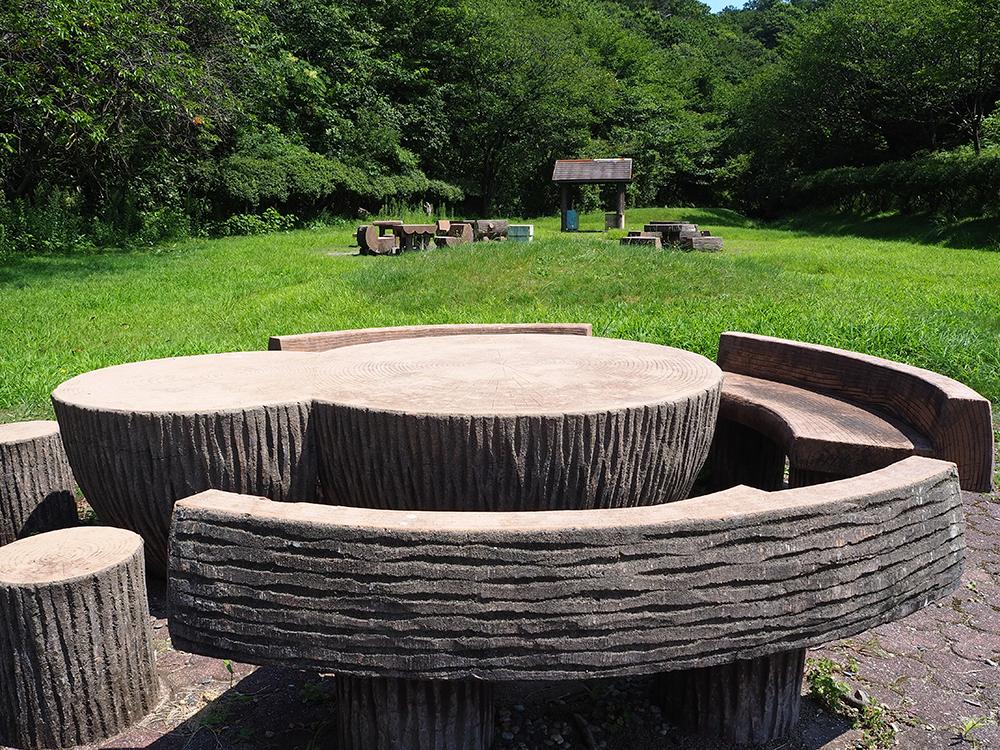 いこいの森児童公園_村上市_バーベキュー