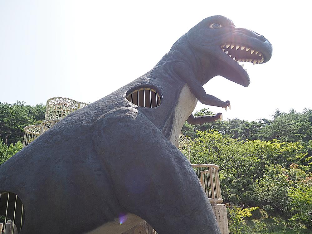 こいの森児童公園_村上市_恐竜