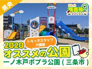 おすすめの公園_一ノ木戸ポプラ公園(三条市)