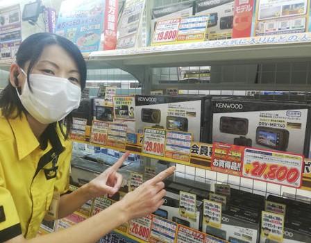 トキっ子メルマガイエローハットドライブレコーダー1