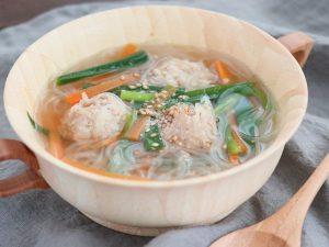 トキっ子食くーるUMAMIだしレシピ鶏団子スープ