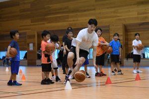 新潟アルビレックスバスケットボールスクール①