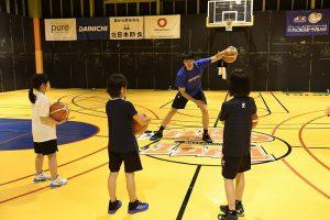 新潟アルビレックスバスケットボールスクール②
