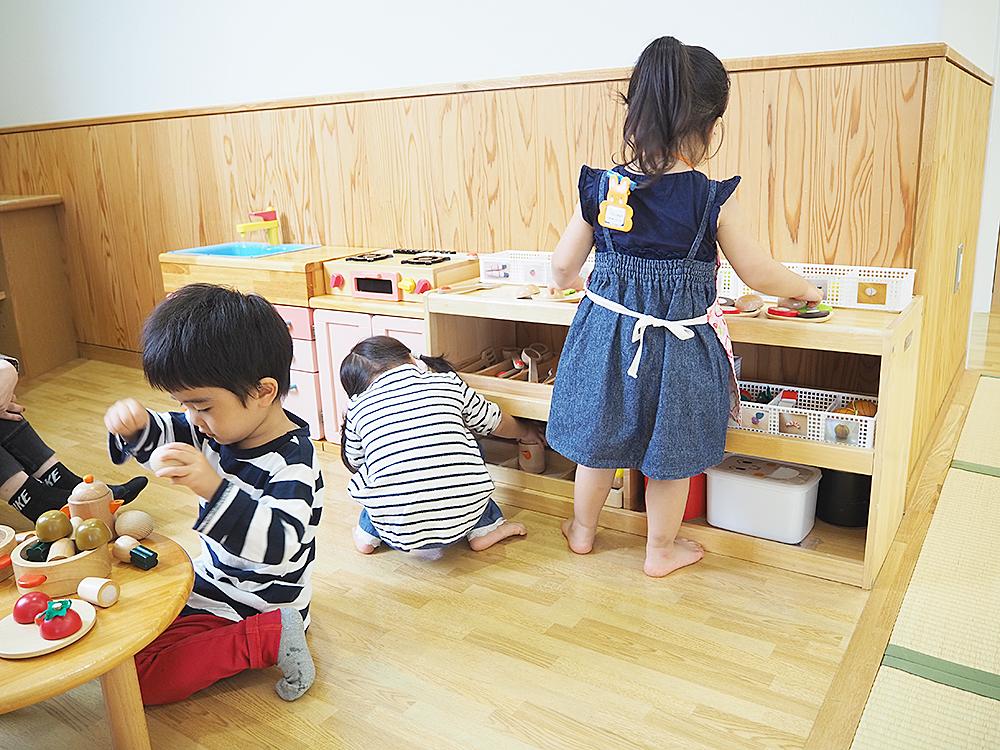 かめっこ広場_キッチンセット