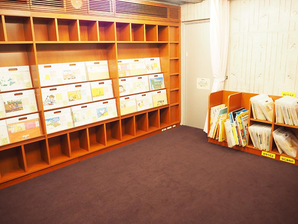 亀田図書館_こども図書館_おはなしのへや