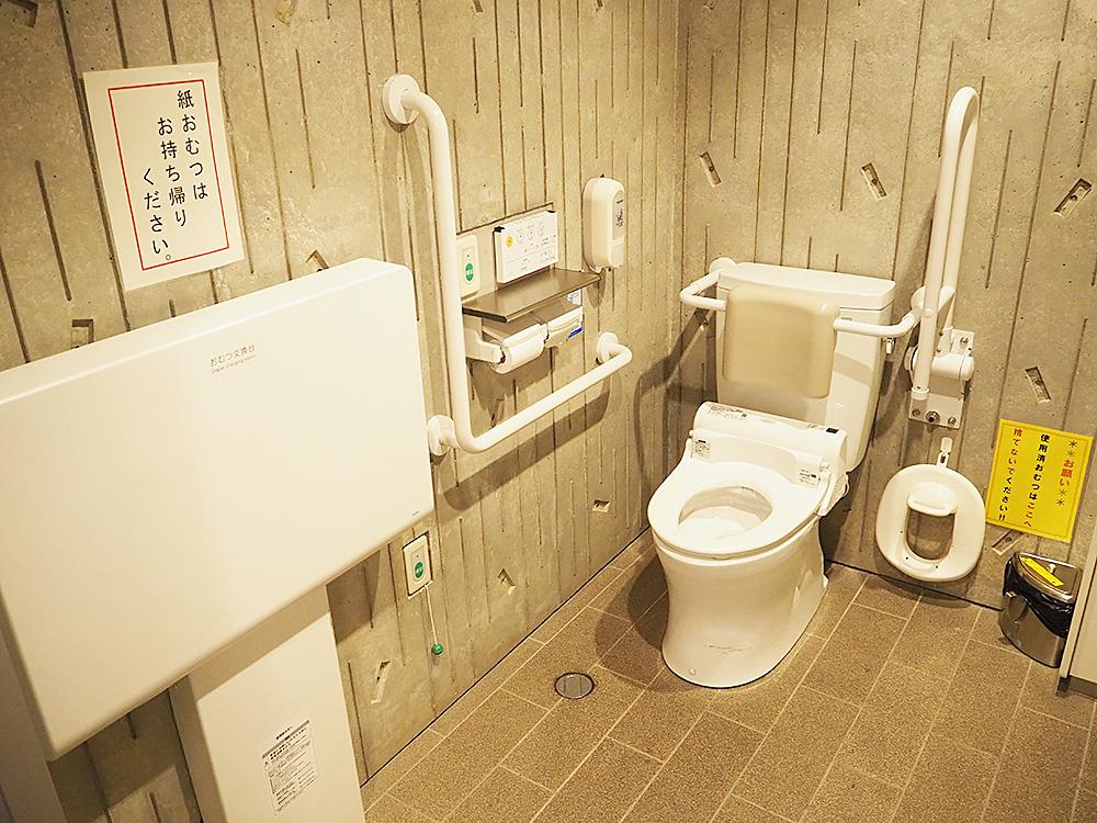 亀田図書館_トイレ