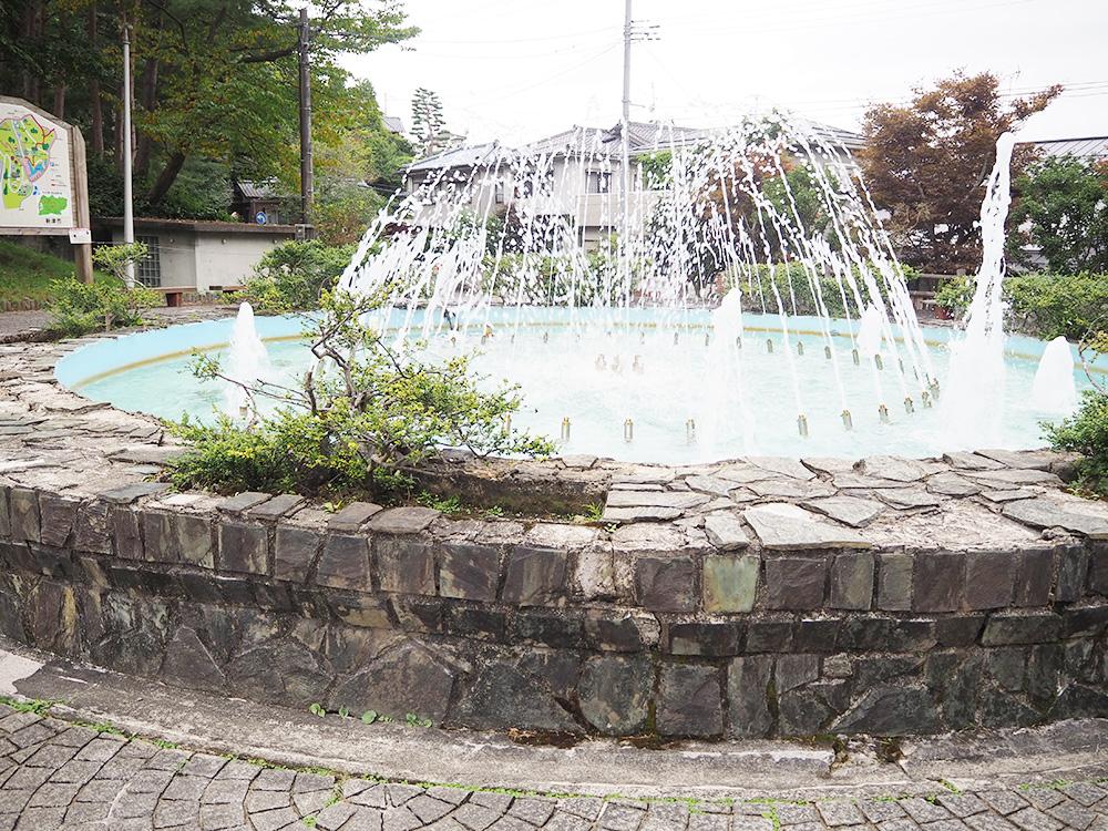 秋葉公園_噴水