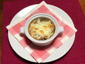 トキっ子食くーるレシピオニオングラタンスープ