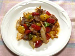 トキっ子食くーるレシピ揚げないカラフル酢豚