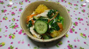 トキっ子食くーるレシピ青菜の春サラダ