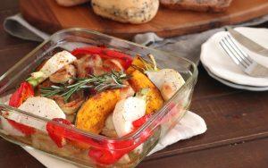 トキっ子食くーるレシピチキンと野菜のグリル焼き