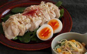トキっ子食くーるレシピ茹で鶏のネギ旨ソース