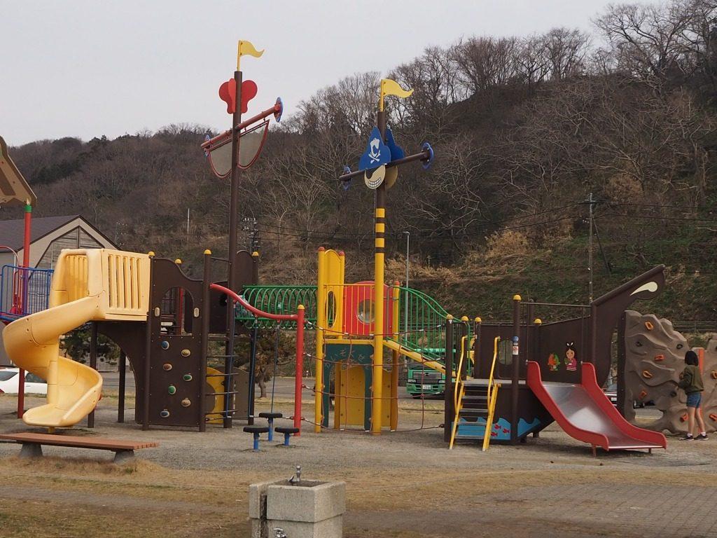 能生海洋公園コンビネーション遊具