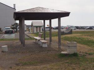 能生海洋公園東屋