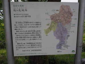 鮫ヶ尾城跡マップ