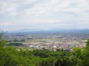 鮫ヶ尾城跡景色