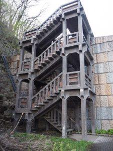 苗名滝階段