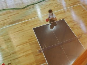 めごらんどうどう広場卓球
