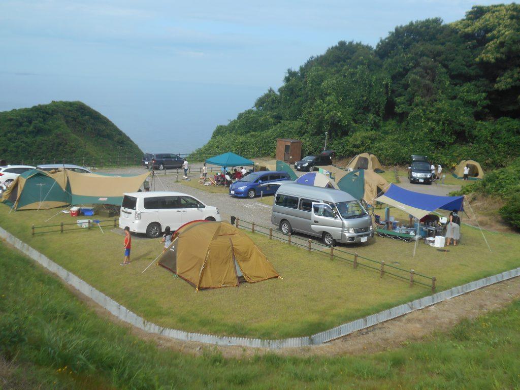 和島オートキャンプ場ペット可サイト
