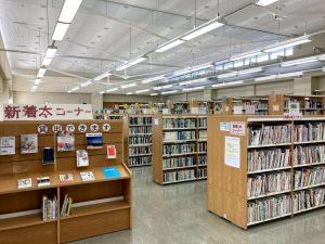刈羽村立図書館1