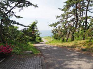 大潟シーサイドアスレチック道路