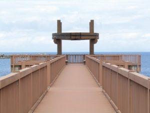天領の里夕凪の橋