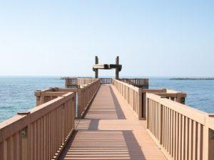 天領の里夕凪の橋2