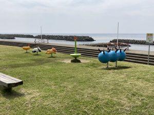 天領の里日本海夕日公園遊具