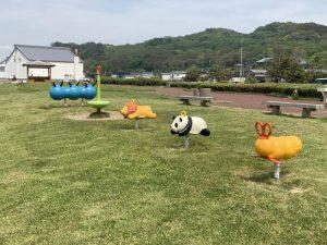 天領の里日本海夕日公園遊具2