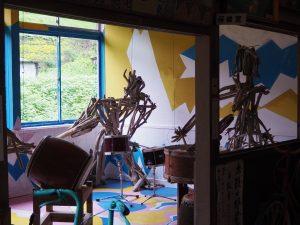絵本と木の実の美術館太鼓