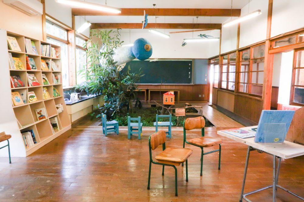 絵本と木の実の美術くさむらの教室