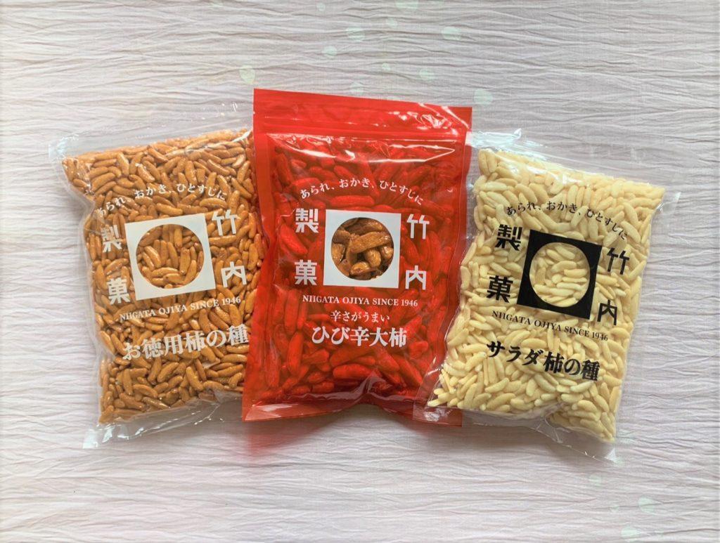 竹内製菓餅紋セット