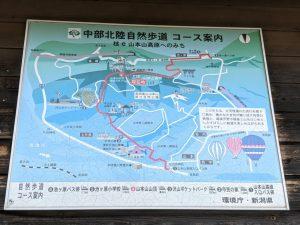山本山自然歩道コース案内