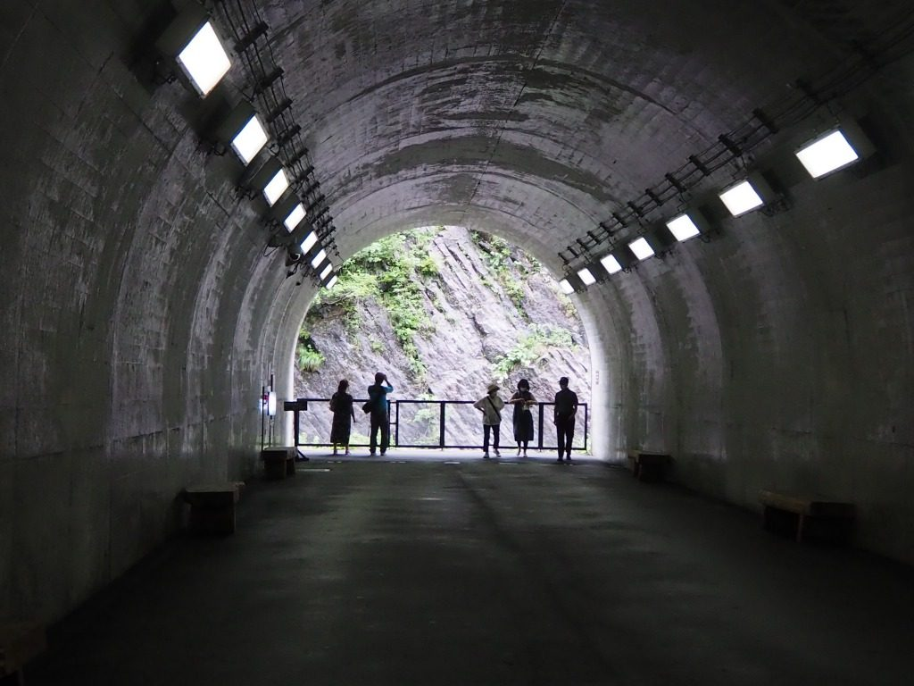 清津峡トンネル第一見晴所2