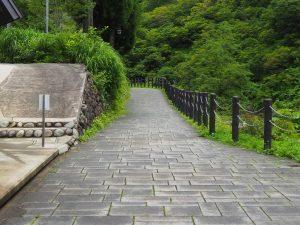清津峡トンネル経路2