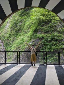 清津峡トンネル第二見晴所 (2)
