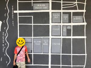 万代シテイ地図